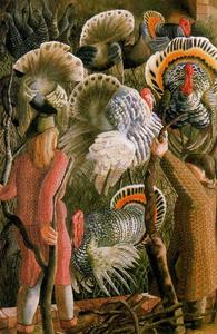 Stanley Spencer - Turkeys 1