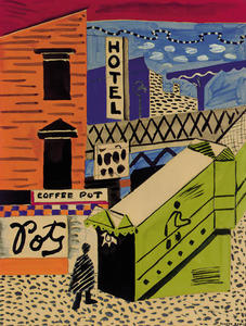 Stuart Davis - Coffee Pot #2