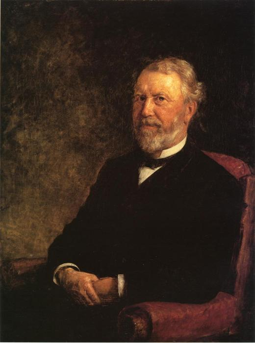 Albert G. Porter, Governor of Indiana by Theodore Clement Steele (1847-1926, United States) | Art Reproduction | WahooArt.com
