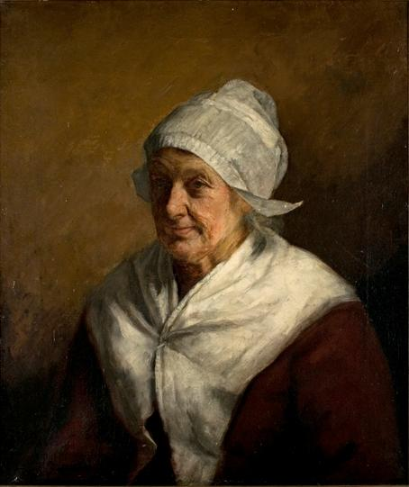 Bavarian Peasant Woman by Theodore Clement Steele (1847-1926, United States) | Museum Quality Copies Theodore Clement Steele | WahooArt.com
