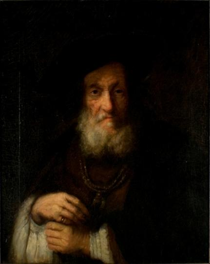 Copy of a Rembrandt by Theodore Clement Steele (1847-1926, United States) | Painting Copy | WahooArt.com