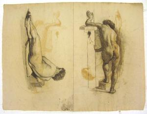 Theodore Clement Steele - Figure studies of male nude