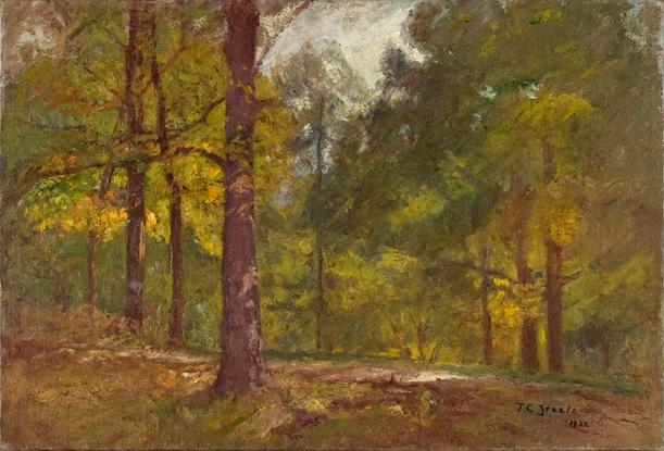 Golden Autumn by Theodore Clement Steele (1847-1926, United States) | Art Reproductions Theodore Clement Steele | WahooArt.com