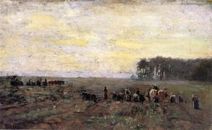 Theodore Clement Steele - Haying Scene