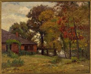 Theodore Clement Steele - Home in the Woods