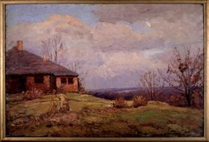 Theodore Clement Steele - House in the Hills