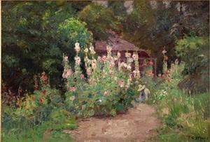 Theodore Clement Steele - In My Garden