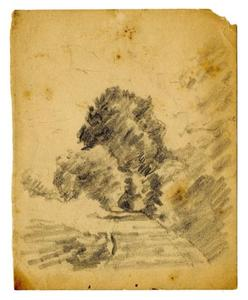 Theodore Clement Steele - Landscape sketch 4