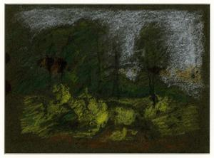 Order Paintings Reproductions | Landscape sketch 6 by Theodore Clement Steele (1847-1926, United States) | WahooArt.com