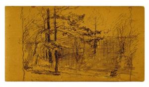 Theodore Clement Steele - Landscape sketch 9