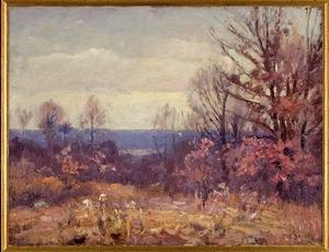 Theodore Clement Steele - November Skies