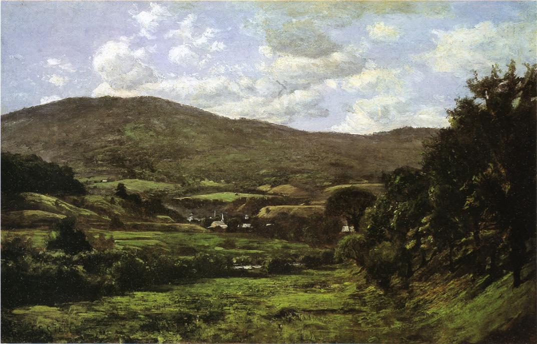 Okemo Mountain, Ludlow, Vermont, 1887 by Theodore Clement Steele (1847-1926, United States) | Art Reproductions Theodore Clement Steele | WahooArt.com