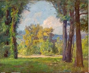 Theodore Clement Steele - Radiant Day in Late Summer (Mid-Summer)
