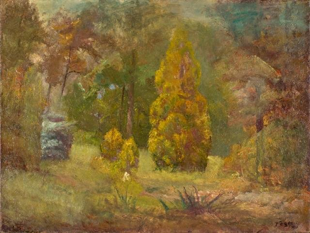 Order Painting Copy : Road to the Ravine by Theodore Clement Steele (1847-1926, United States) | WahooArt.com