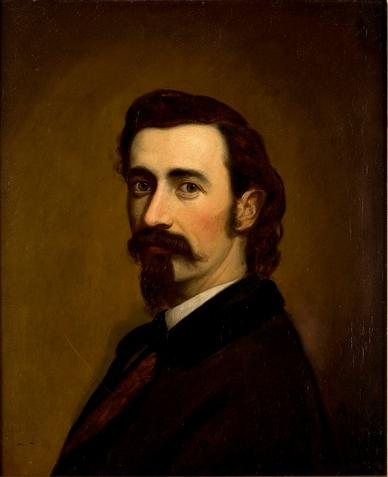 Order Painting Copy : Self Portrait by Theodore Clement Steele (1847-1926, United States) | WahooArt.com
