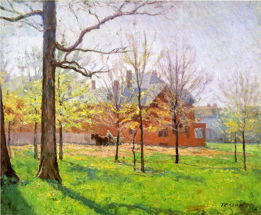 Talbott Place, 1897 by Theodore Clement Steele (1847-1926, United States) | Art Reproduction | WahooArt.com
