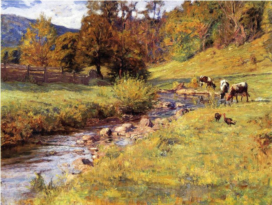 Tennessee Scene, 1899 by Theodore Clement Steele (1847-1926, United States) | Museum Quality Copies Theodore Clement Steele | WahooArt.com