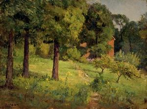 Theodore Clement Steele - The Studio Garden (Orchard - Late Summer)
