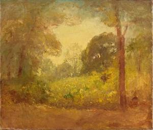 Theodore Clement Steele - Untitled landscape