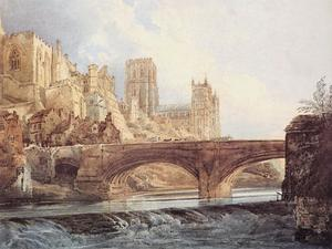Thomas Girtin - Durham Cathedral and Castle 1