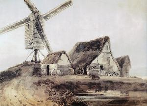 Thomas Girtin - Mill in Essex