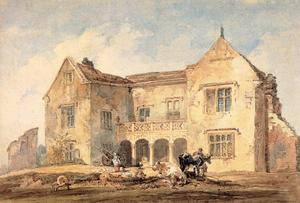 Thomas Girtin - St Nicholas Hospital, Richmond, Yorkshire