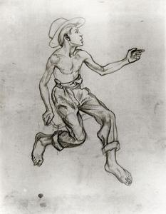 Thomas Hart Benton - Huckleberry Finn (Study for A Social History of the Estate of Missouri)