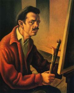 Thomas Hart Benton - Self-Portrait