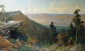 Thomas Hill - Hudson River Valley from the Catskill Mountain House