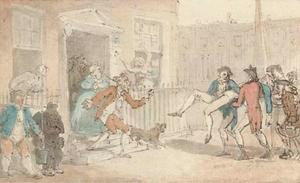 Thomas Rowlandson - After the duel