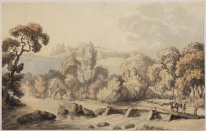 Thomas Rowlandson - Coombe Bridge