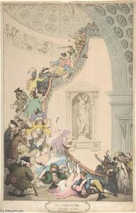 Thomas Rowlandson - Exhibition ''Stare'' Case