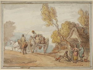 Thomas Rowlandson - Market cart