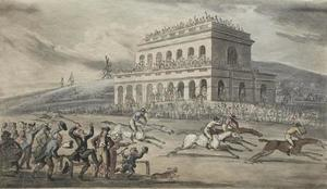 Thomas Rowlandson - The Rev. Dr. Syntax Loses his Money on the Raceground at York