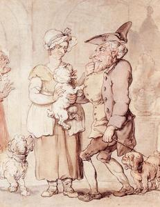Thomas Rowlandson - The Sick Dog