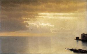 William Stanley Haseltine - A Calm Sea, Mentone