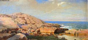 William Stanley Haseltine - Rocky Coast of New England