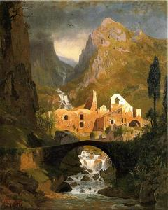 William Stanley Haseltine - Valle dei Molini - Amalfi