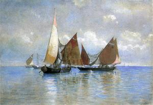 William Stanley Haseltine - Venetian Fishing Boats
