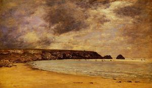 Eugène Louis Boudin - Camaret, the Bay