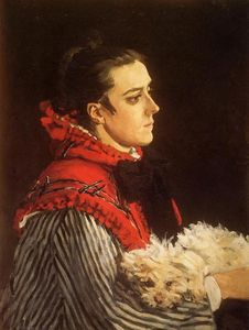 Claude Monet - Camille with a Small Dog