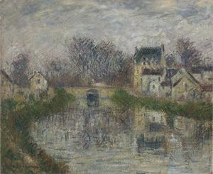 Gustave Loiseau - Canal at Moret