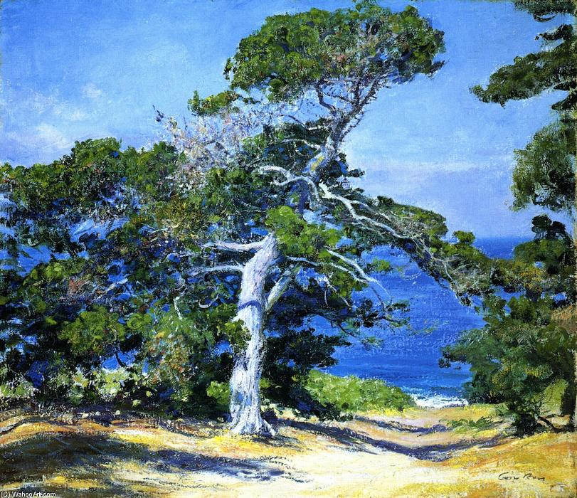 A Carmel Pine, 1918 by Guy Orlando Rose (1867-1925, United States) | Museum Quality Reproductions | WahooArt.com