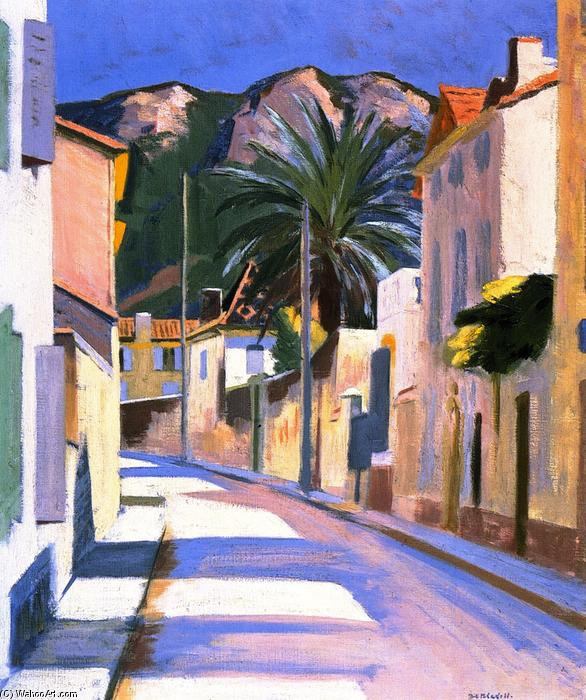 Cassis, Oil On Canvas by Francis Campbell Boileau Cadell (1883-1937)