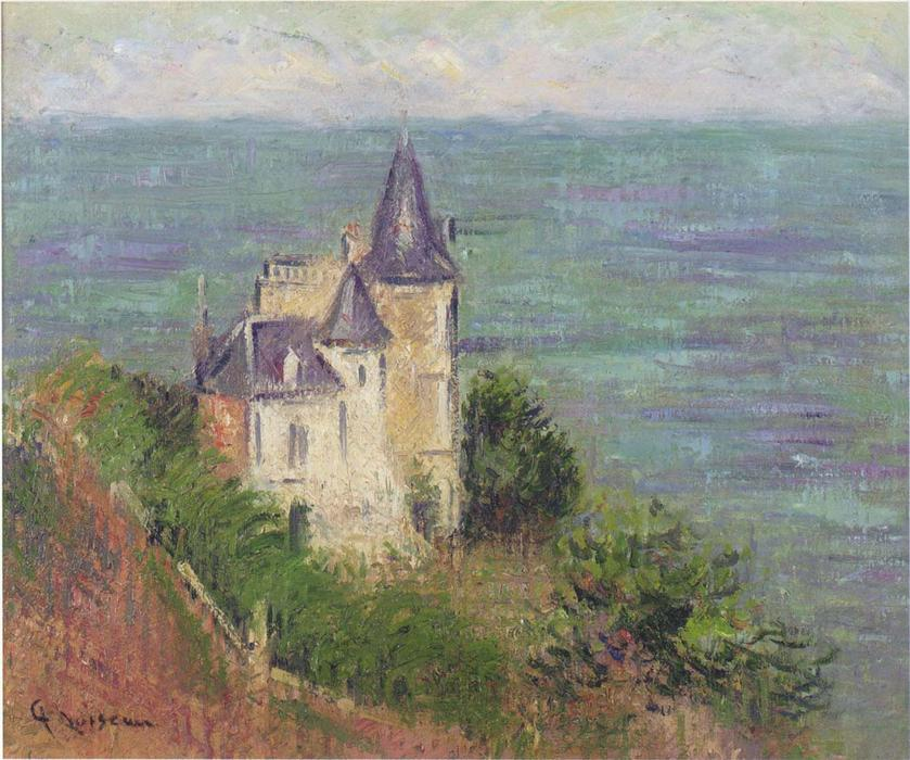 Castle by the Sea by Gustave Loiseau (1865-1935, France) | Art Reproduction | WahooArt.com