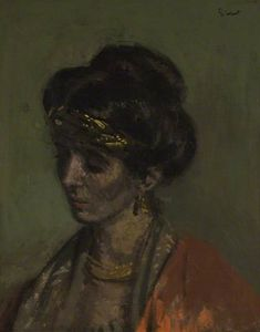 Walter Richard Sickert - Celia Brunel, Lady Noble