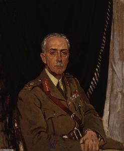 William Newenham Montague Orpen - Charles Sackville West 4th Baron Sackville