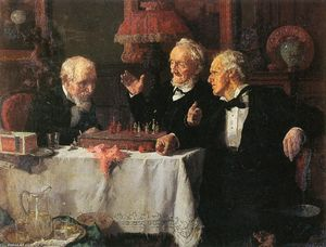Louis Charles Moeller - The Chess Game