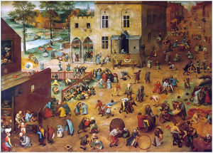 Pieter Bruegel The Elder - Children-s Games