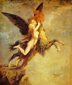 Gustave Moreau - The Chimera